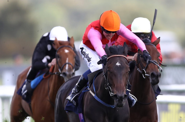 Breathtaking Look in winning action at Doncaster