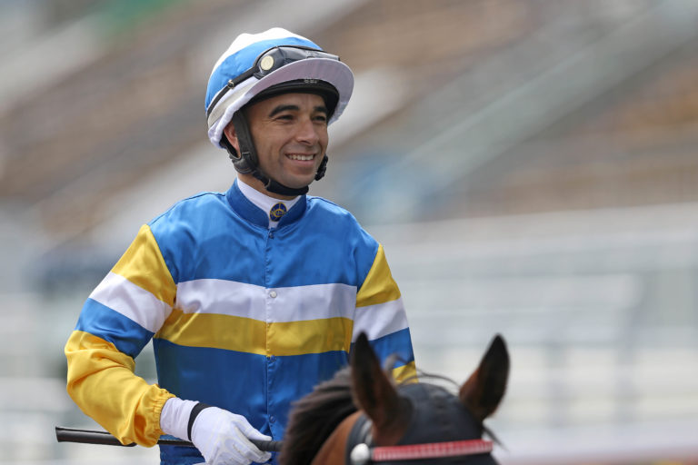 Joao Moreira is locked in a title battle with Zac Purton