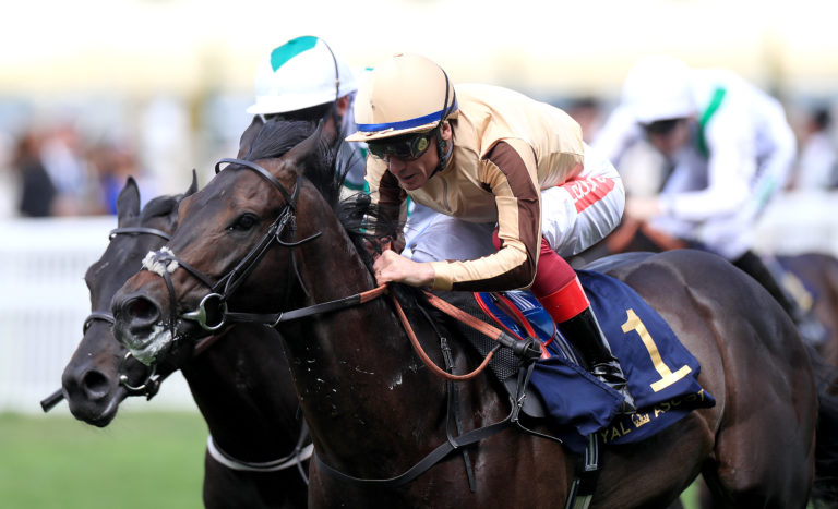 A'Ali showed he had speed to burn last year, winning at Royal Ascot