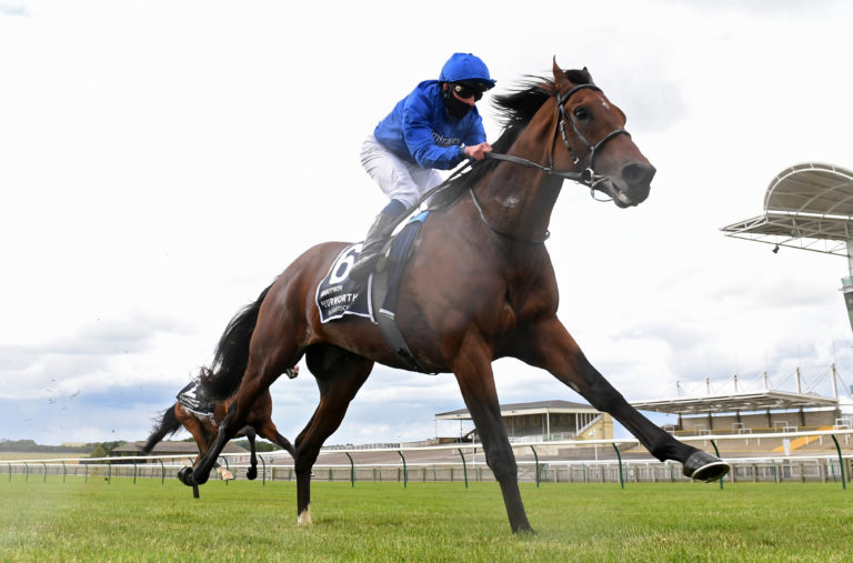Ghaiyyath was an impressive winner at Newmarket earlier this month
