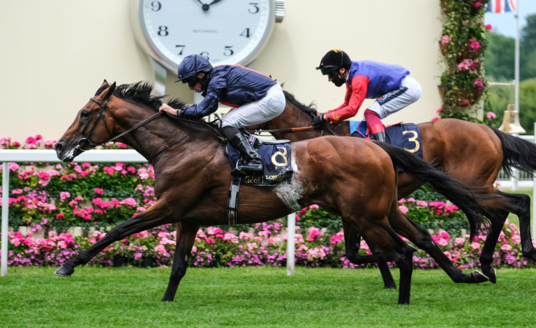 Russian Emperor was a winner for Ryan Moore at Royal Ascot