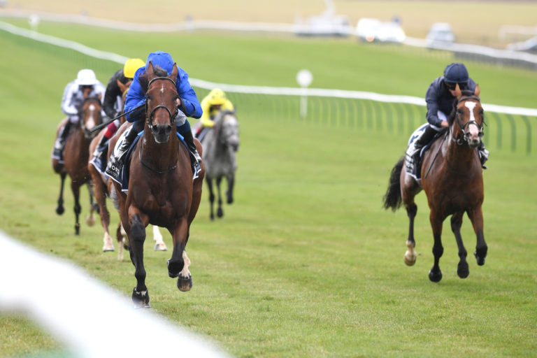 Ghaiyyath was hugely impressive in the Coronation Cup