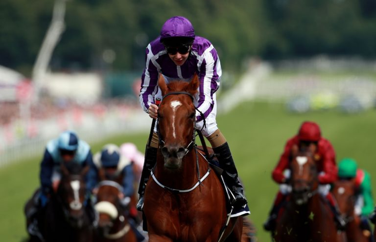 By Galileo and out of Oaks winner Ouija Board, Australia was bred for Epsom glory