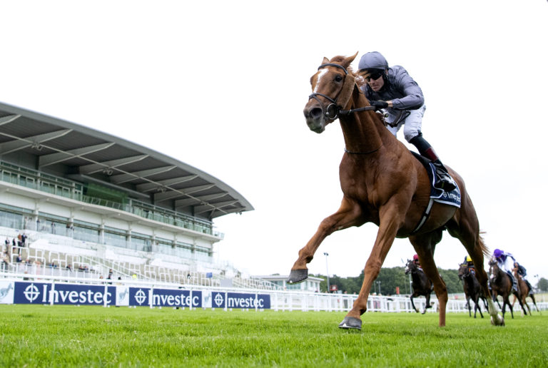 Serpentine comes home clear at Epsom