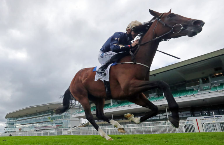 Champers Elysees was a clear-cut winner