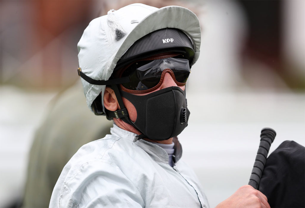 Frankie Dettori after victory on Eye Of Heaven