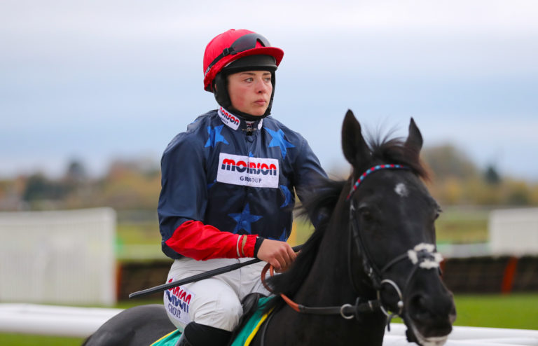 Black Corton get on extremely well with Bryony Frost