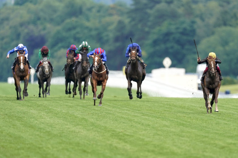 Stradivarius won the Gold Cup again at Royal Ascot by a wide margin