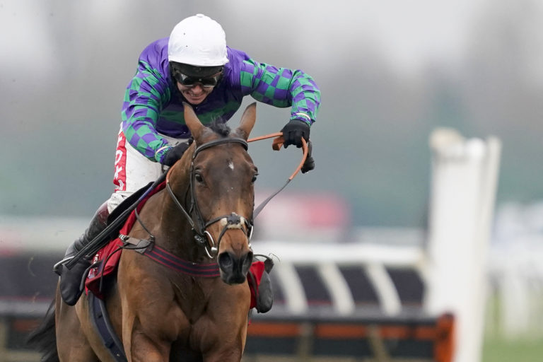 Thyme Hill is set for another clash with 2019 Stayers' Hurdle winner Paisley Park at Cheltenham next month