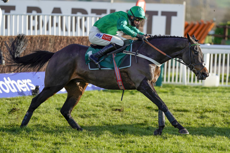 Nicky Henderson is expecting a big run out of Fusil Raffles