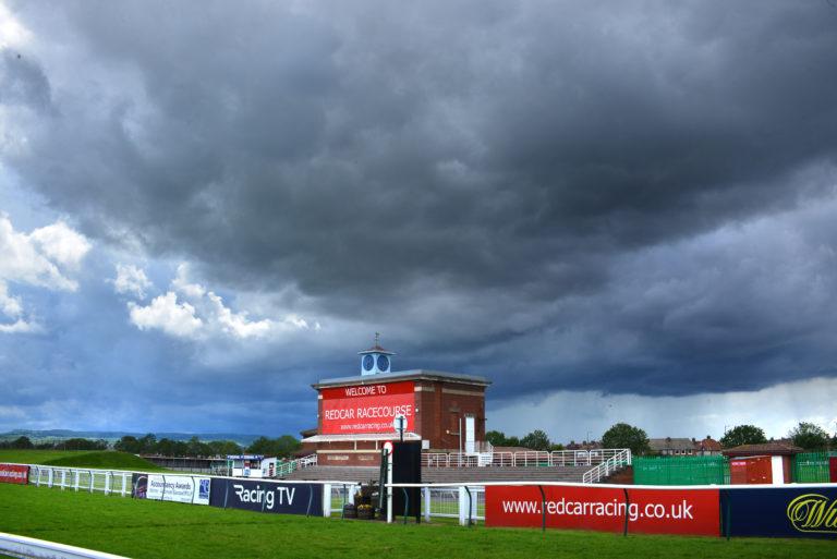 Redcar will have spectators on course on Monday