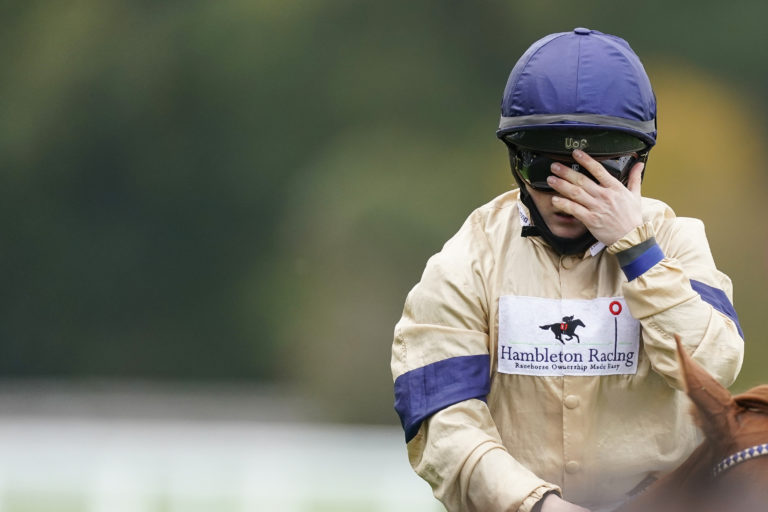 Hollie Doyle is overcome with emotion after Glen Shiel provided her with a first Group One