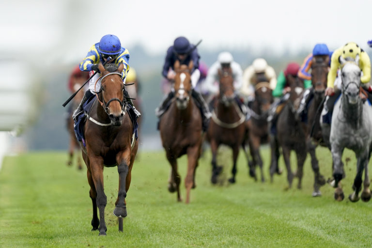 Trueshan provided Hollie Doyle with one leg of a double on Champions Day