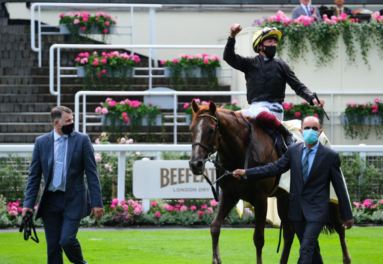 Stradivarius and Frankie Dettori have enjoyed great moments together at Royal Ascot