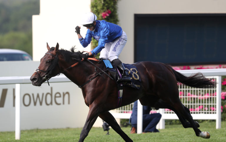 Godolphin had a double after the Royal Hunt Cup - notable for a breakthrough Royal Ascot success for up-and-coming, and ever-smiling, jockey Marco Ghiani as Real World won for trainer Saeed bin Suroor this tim