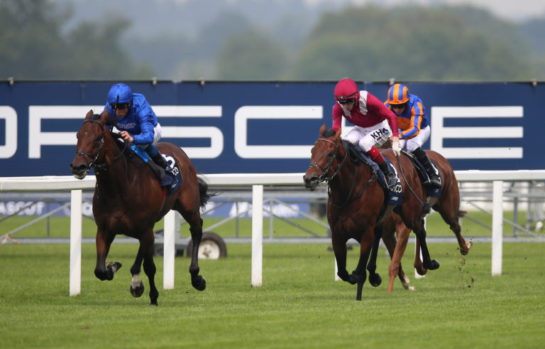 Adayar pulling away from multiple Group One-winners Mishriff and Love