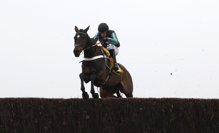 Nobody else in sight as Altior cruises to victory in the Game Spirit